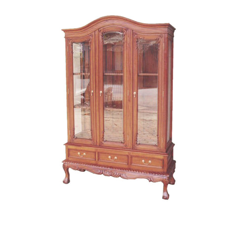 Chippendale Glass Display Cabinet