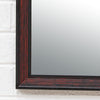 Reeded Bamboo Mirror