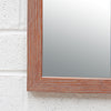 White Washed Timber Mirror