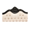 Louis Upholstered Headboard - King size