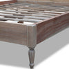 Marseille Rattan Bed - Queen Size