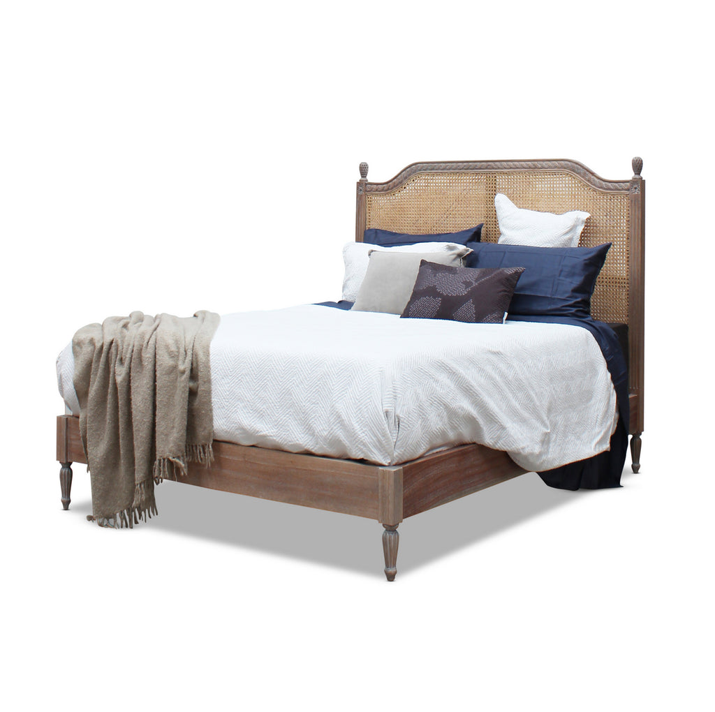 Marseille Rattan Bed - King Size
