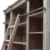 Estate Bookcase with Ladder