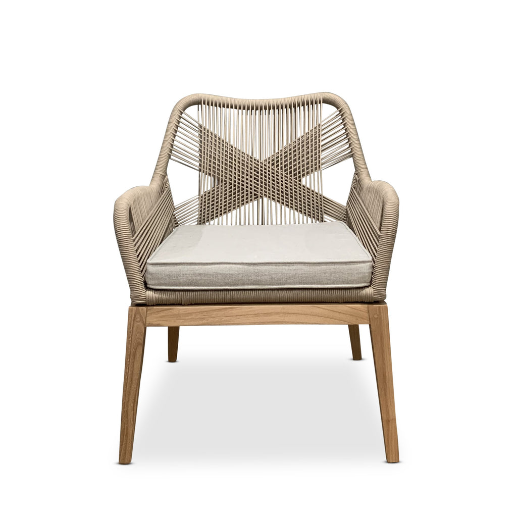 Zion Rope weave dining chair