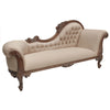Large Carved Chaise Lounge