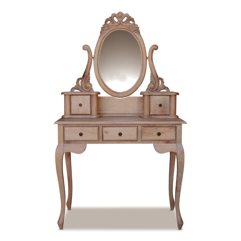 Marcella Dressing Table with Stool