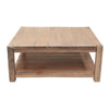 Zurich Weathered Oak Finish Coffee Table