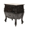 Rococo Bedside - Three Drawer
