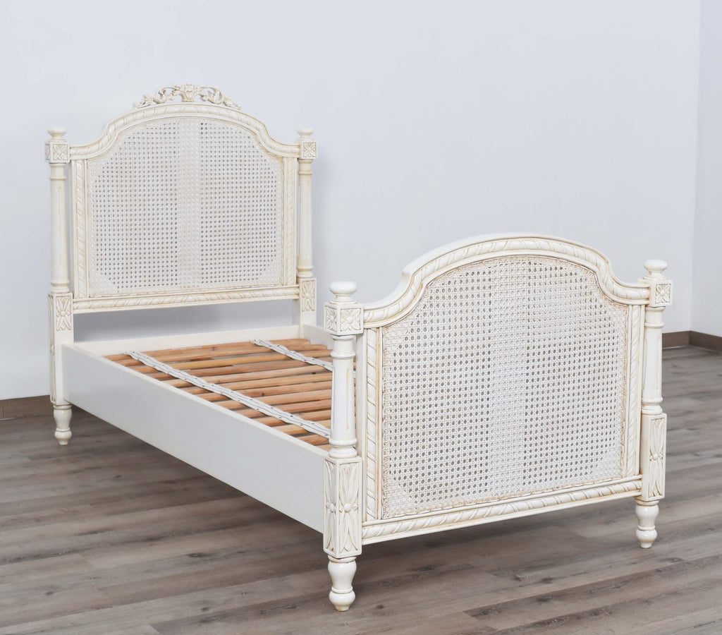 Marseille Rattan Bed - Single Size