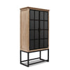 Berkeley Timber and Iron Display Cabinet