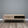 Mala Timber and rattan coffee table