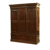 Colonial Style Wardrobe - Large
