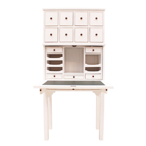 Eight Drawer Writing Desk