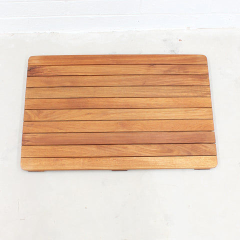 Bath Floor mat with slip resistant rubber grips