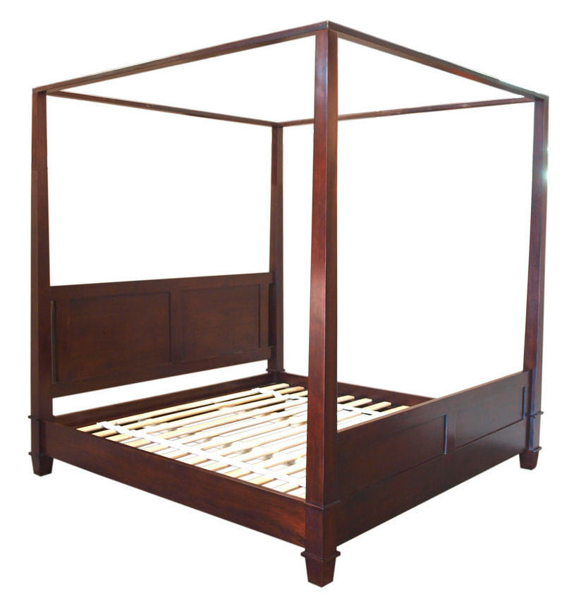Queen Size - Straight Four Poster Bed