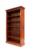 Six Shelf Mahogany Bookcase