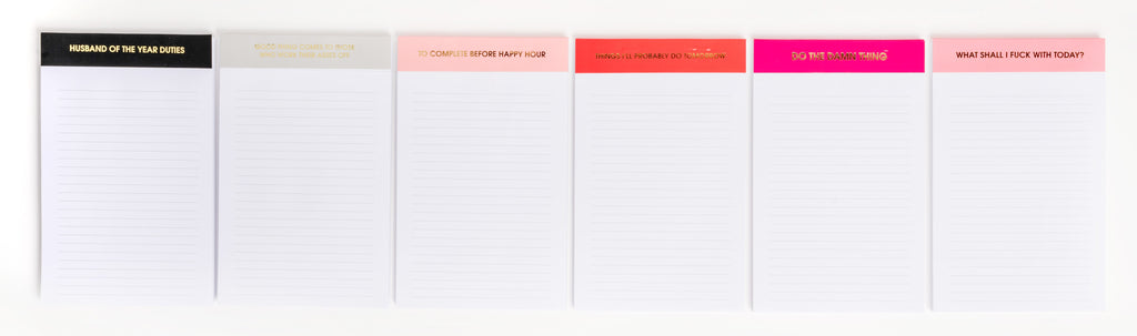 Chez Gagne Chez Gagné Husband of the Year - Notepad