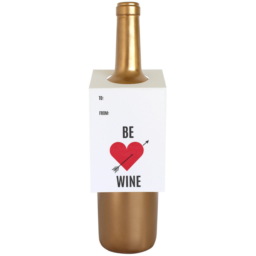 Be Wine Arrow Wine & Spirit Tag