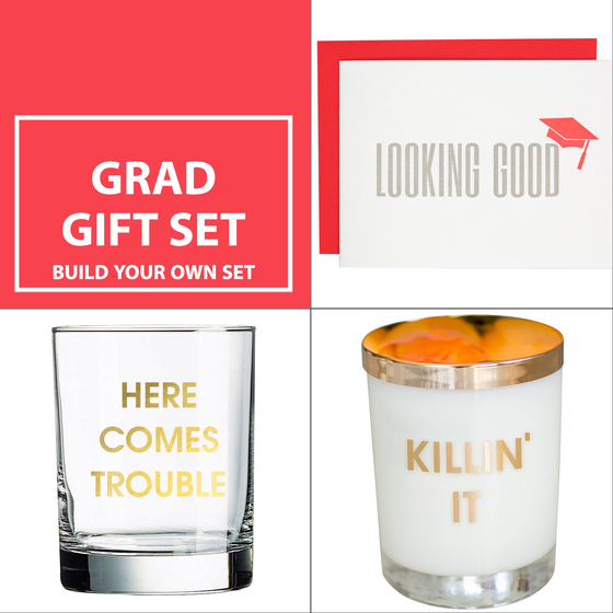 Gifts for Grads! Candle and Cocktails!