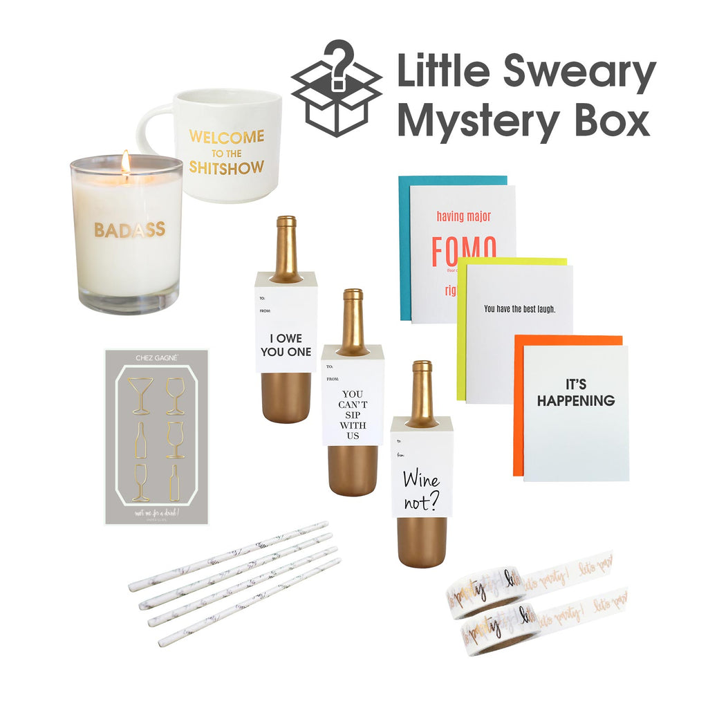 A Little Sweary Mystery Box