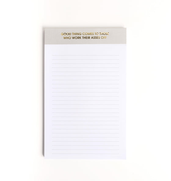 Chez Gagne Chez Gagné Good Thing Comes- Notepad*