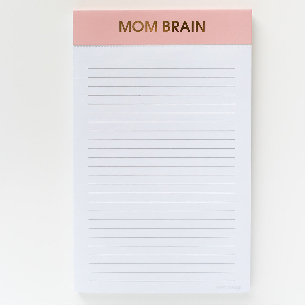Mom Brain  - Notepad