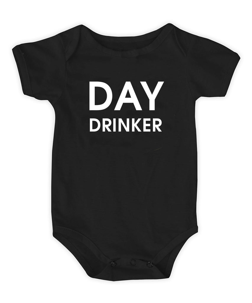 Day Drinker Baby Onesie by Chez Gagne - Funny gift for Baby Shower - Gift for New Moms