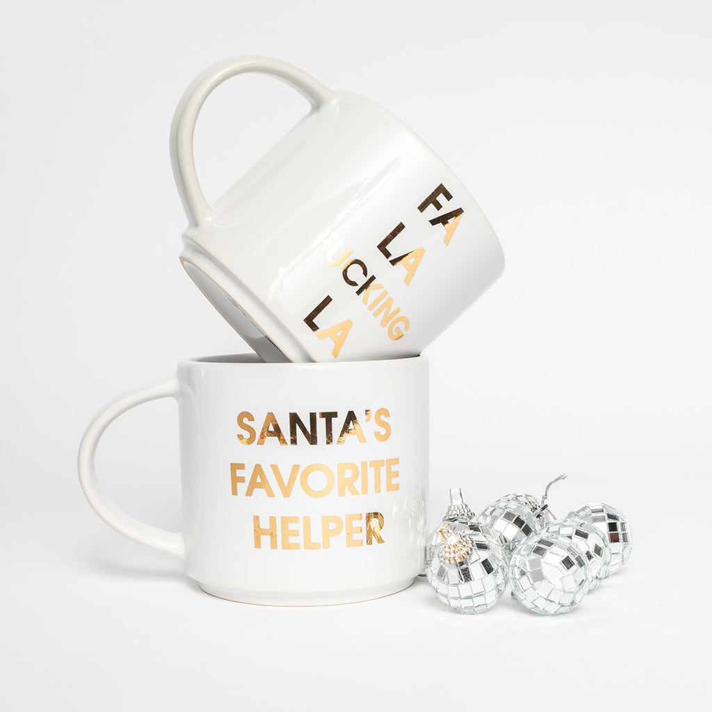 Chez Gagne Holiday Coffee Mugs and Christmas Gifts