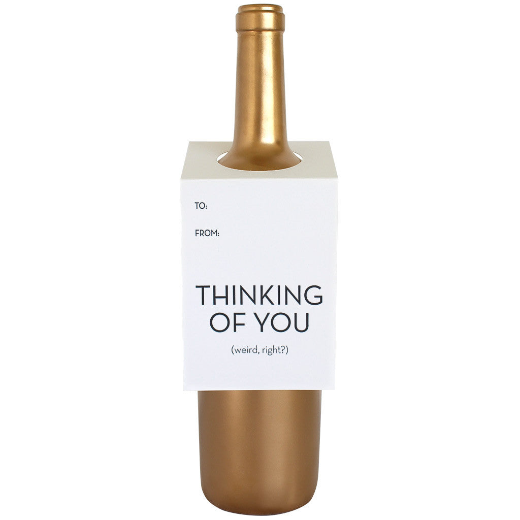 Thinking of You Wine & Spirit Tag