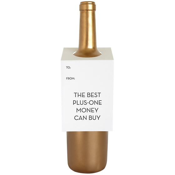 Best Plus-One Money Can Buy Wine & Spirit Tag