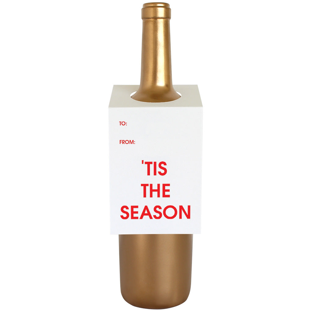 Tis the Season Wine & Spirit Tag