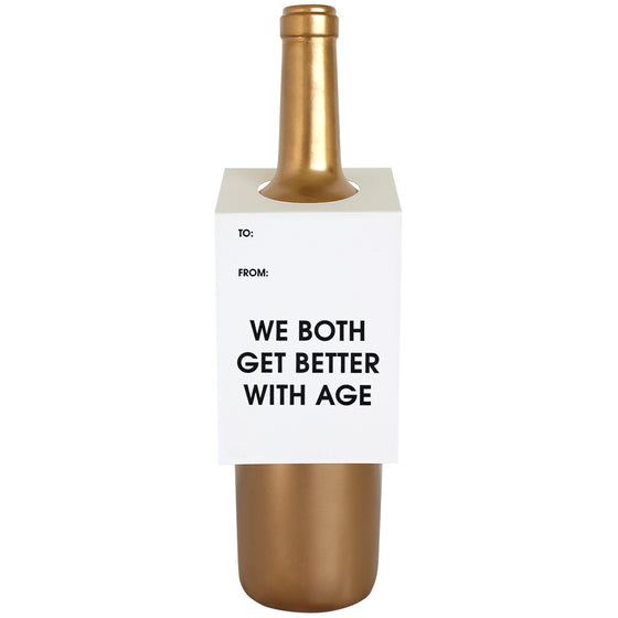 Both Get Better With Age Wine & Spirit Tag