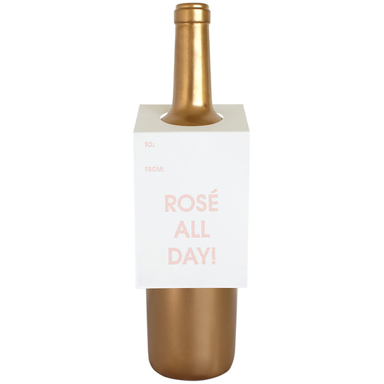 Rosé All Day Wine & Spirit Tag