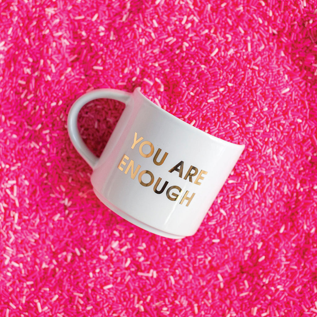 You Are Enough Jumbo Coffee Mug Chez Gagne