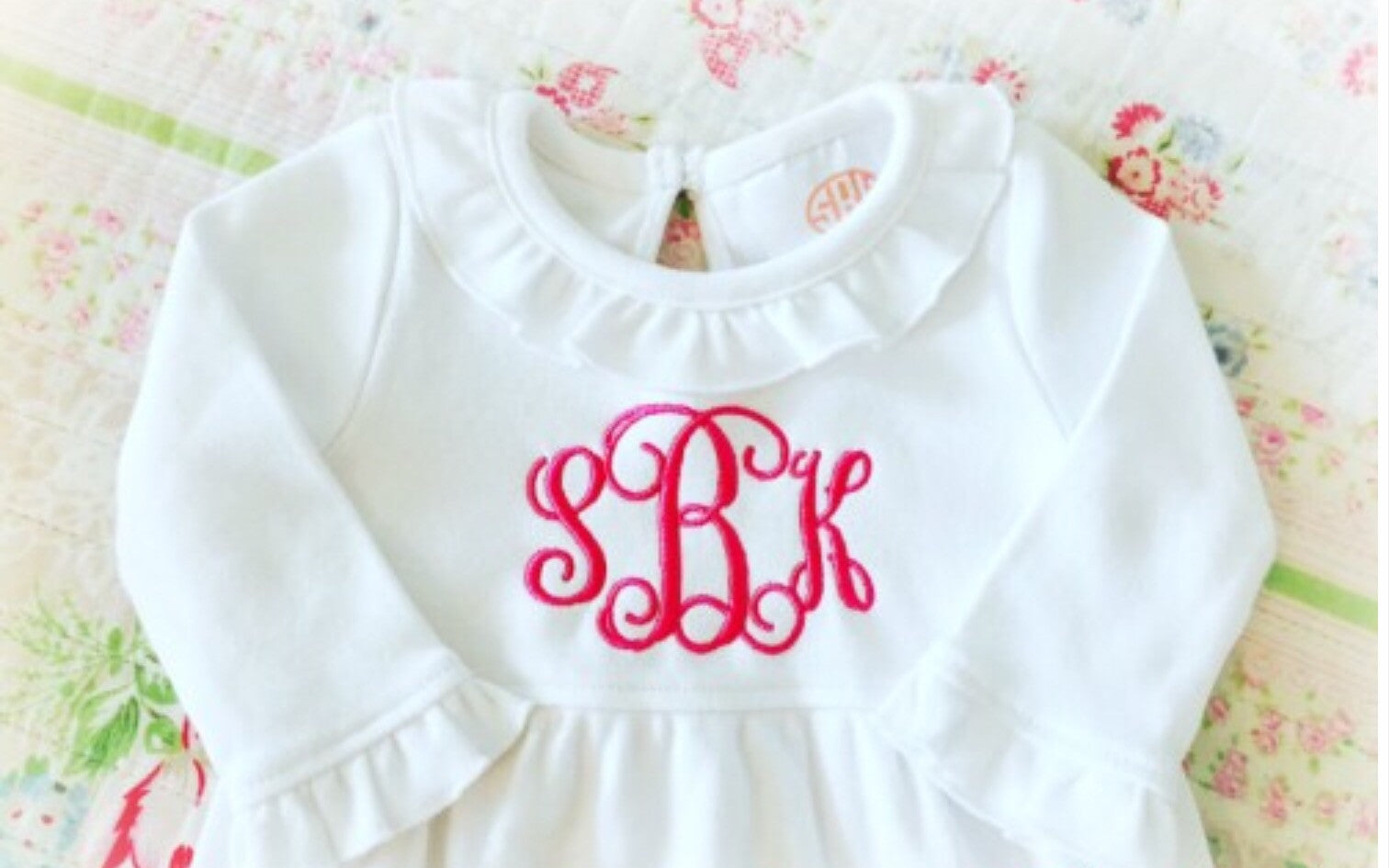 Baby Girl Layette Gown – A Graceful Rose, LLC