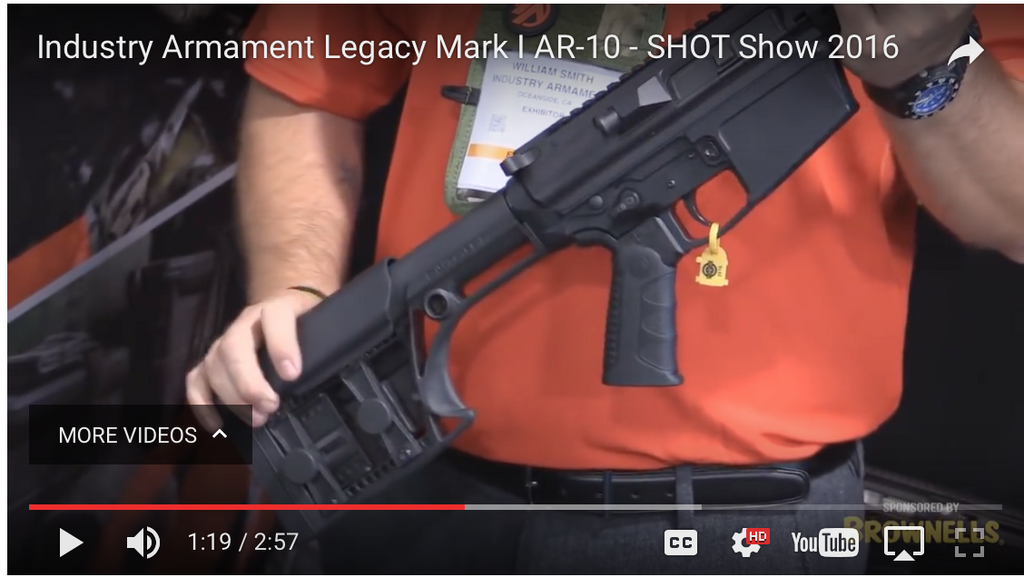 AR-10 Legacy Mark I by Industry Armament - AR-15.com & Brownells
