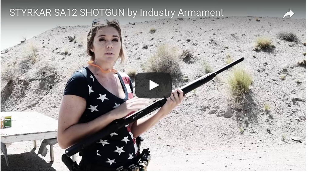 STYRKAR SA12 SHOTGUN RELEASED by Industry Armament