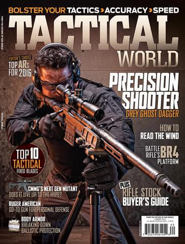 TACTICAL WORLD SUMMER 2016 - TOP ARs for 2016 Editors Choice