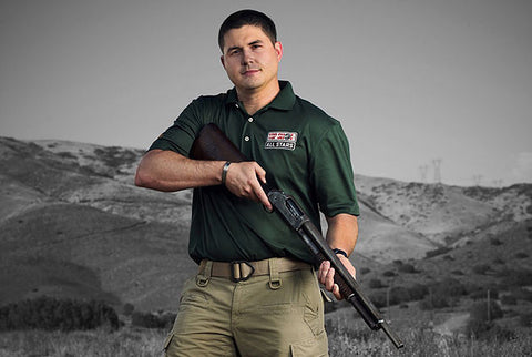Top Shot Jamie Franks Joins Industry Armament