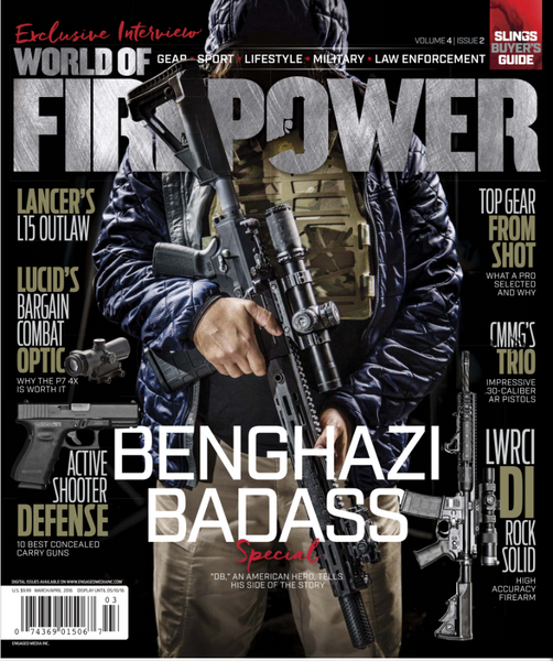 World of Fire Power March-April 2016 Industry Armament Ares Armor Huskey Sling