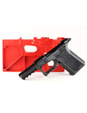 80% LOWER & JIG | GLOCK COMPACT PISTOL  | 9MM & .40 | POLYMER - BLACK