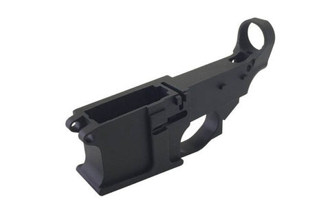 80% AR-15 Billet Lower Receiver 6061 - Anodized Black