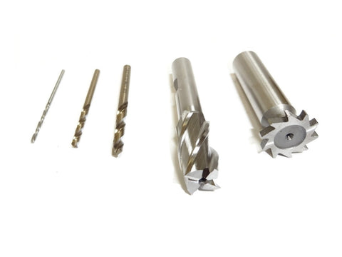 END MILL TOOLING KIT FOR 80% 1911 FRAME – Industry Armament