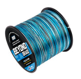Beyond Braid Blue Camo 300 - 2000 Yard Spools