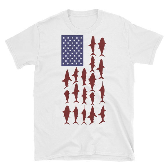 United States Of Fishing T-Shirt