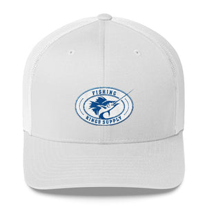 Fishing Kings Supply Retro Trucker Cap