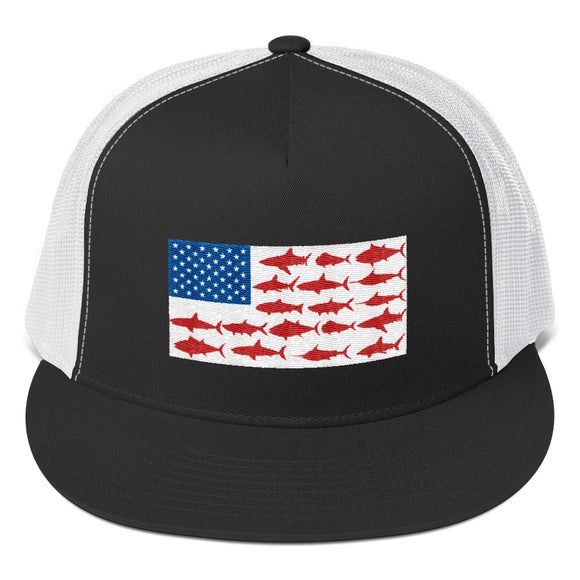 United States Of Fishing Snapback