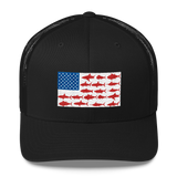United States Of Fishing Hat