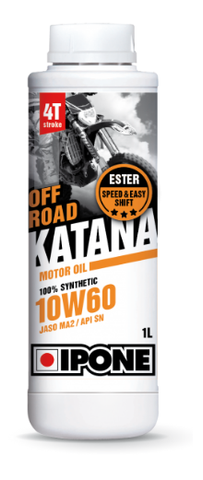 IPONE - KATANA OFF ROAD 10W60 - ACEITE MOTOR