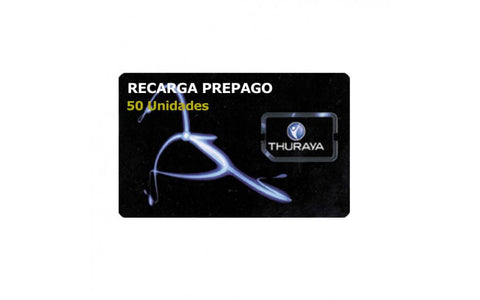 THURAYA - TH-VOUCHER_50 - RECARGA 50 UDS SIN CADUCIDAD